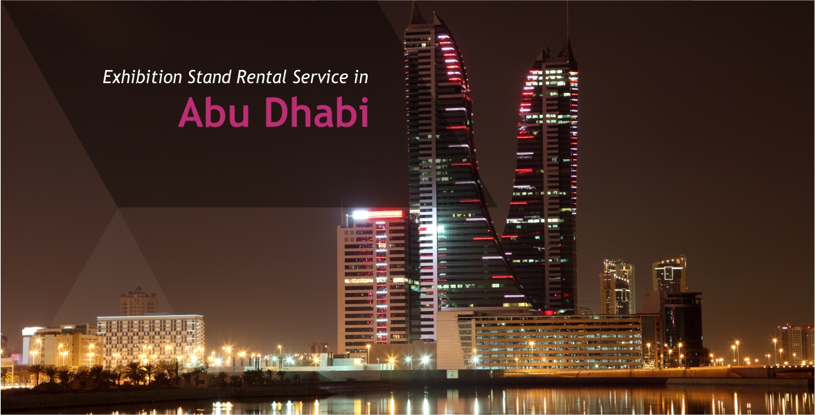 Exhibition Stand Abu Dhabi : Exhibition stand rental service in abu dhabi
