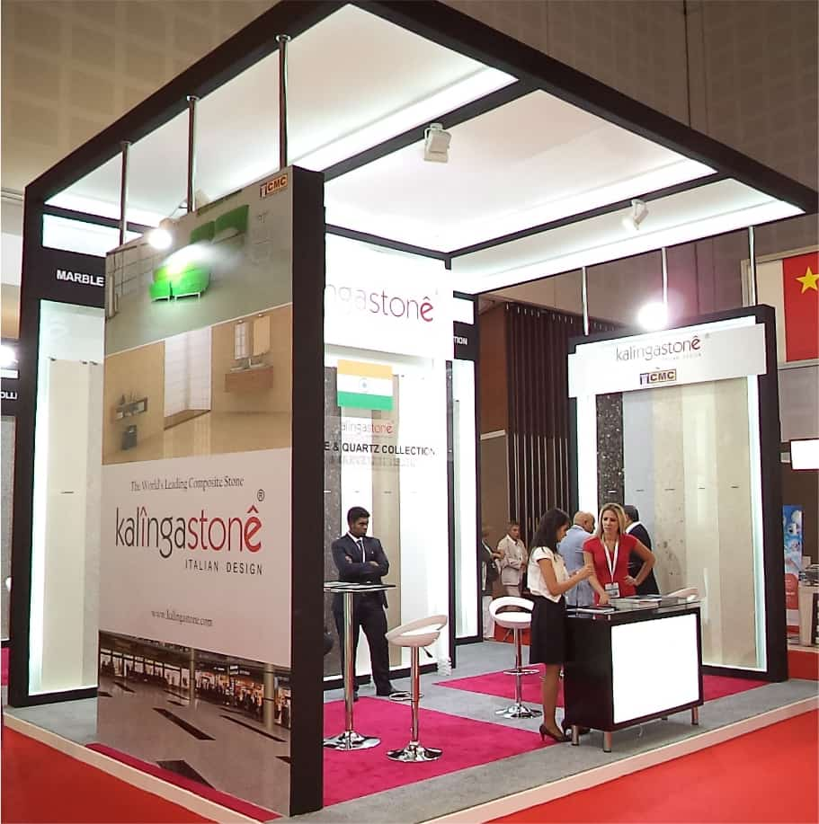 Modular Exhibition Stands Zimbabwe : Modular exhibition stands with a positive impact