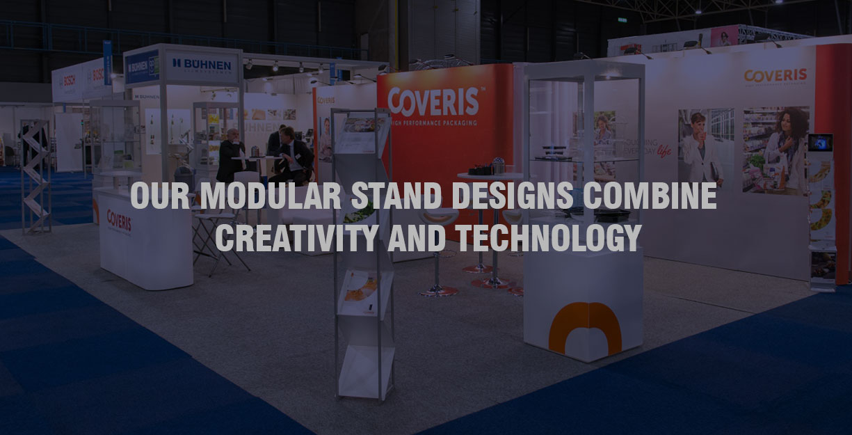 Modular Exhibition Stands Election : Modular exhibition stand in dubai