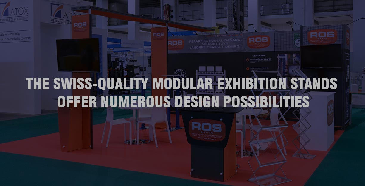 Modular Exhibition Stand By Me : Modular exhibition stand in dubai