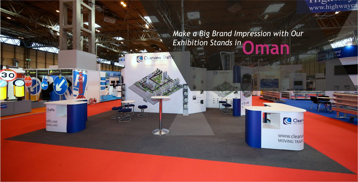 Exhibition Stand in Oman