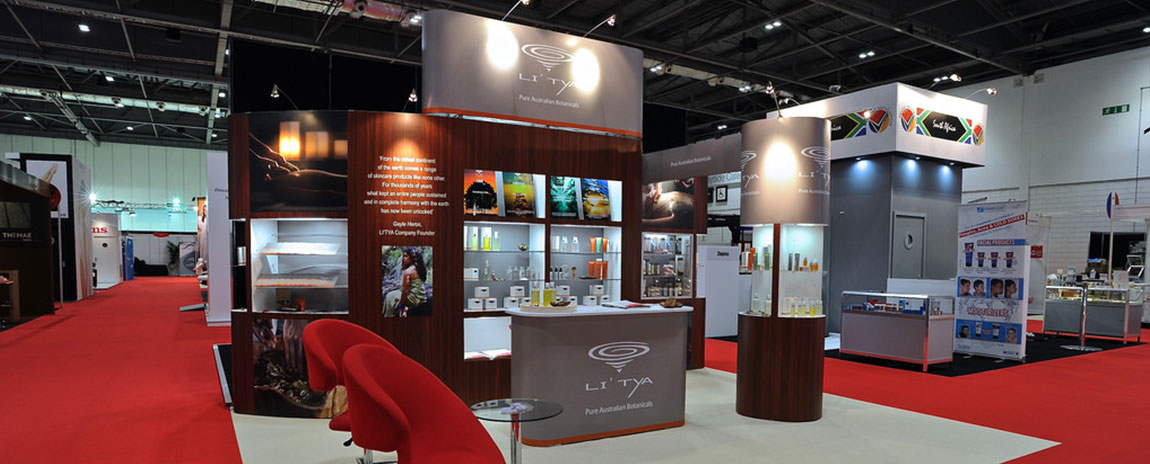 Portable Exhibition Stands In Dubai : Exhibition stand contractors dubai best quality