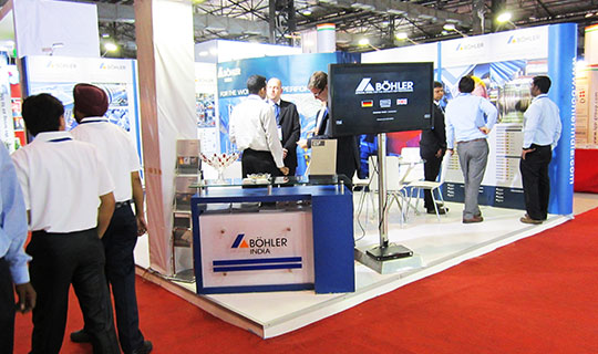 Exhibition Stand Builders : Expert exhibition stand builders intex oman eds middle east