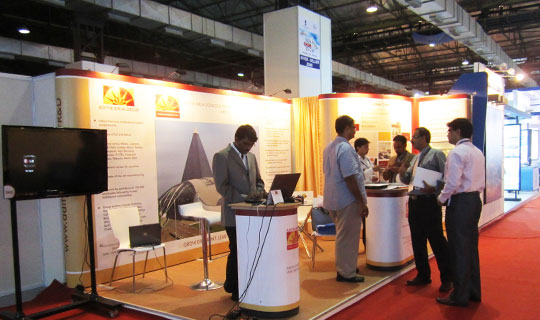 Exhibition Stand Builders Oman : Expert exhibition stand builders intex oman eds middle east