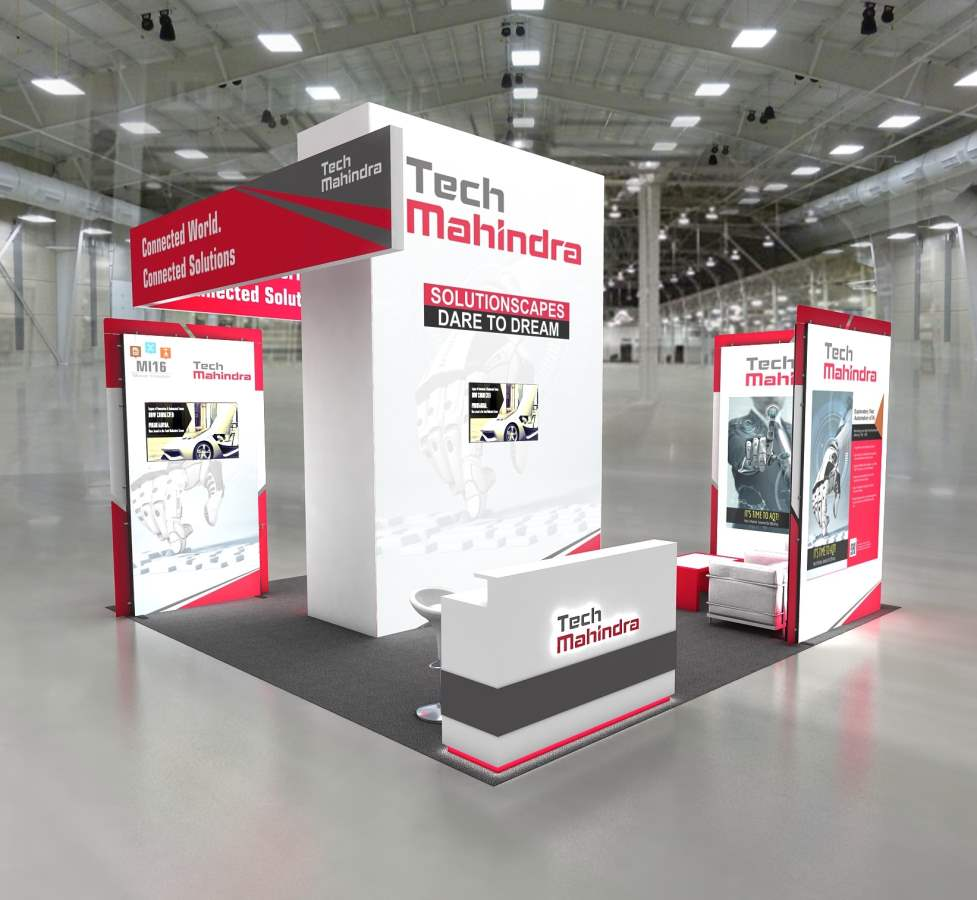 6x6 Island Exhibition Stand RE6x6 121
