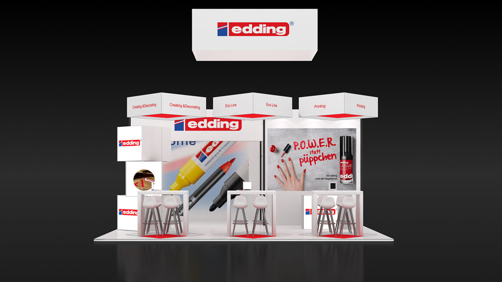 Portable exhibition stand design