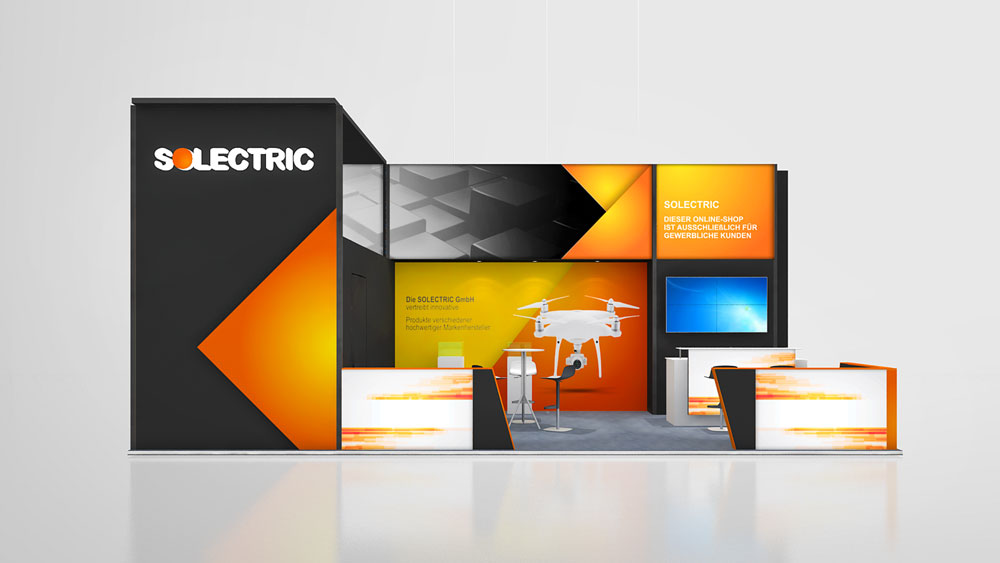 Exhibition Stand Design On A Budget : Convention display stands for every budget