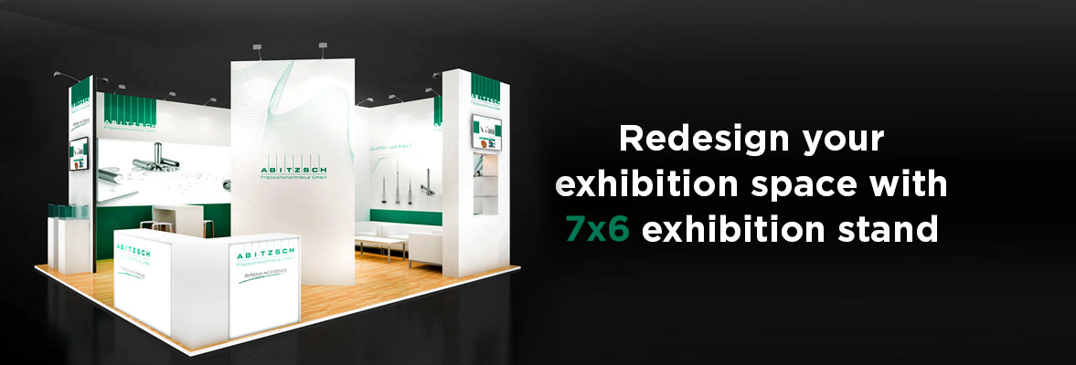 7x6 exhibition stands Dubai