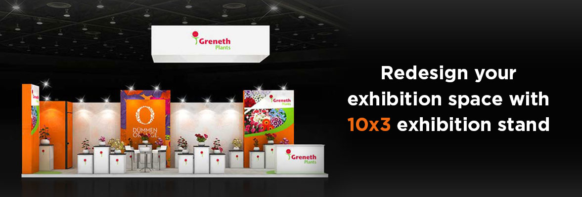 10x3 Exhibition Stands Dubai