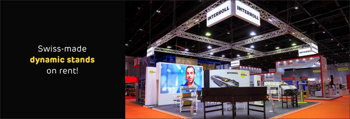 Modular Exhibition Stands Election : Modular exhibition stands in dubai made with swiss technology
