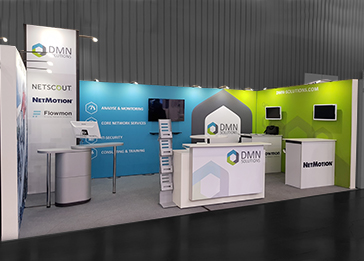 Custom-Modular Exhibition Stands