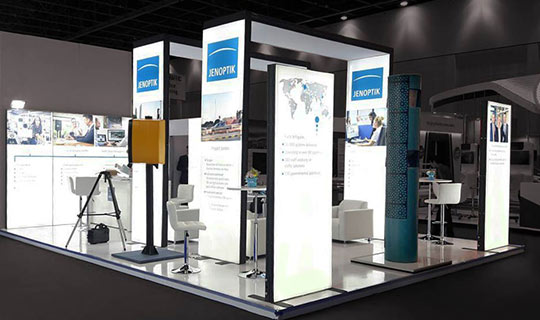 Custom Modular Exhibition Stands : Modular exhibition stands in dubai made with swiss technology