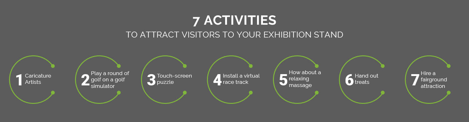 Seven Activities To Attract Visitors To Your Exhibition Stand