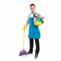 Housekeeping boy