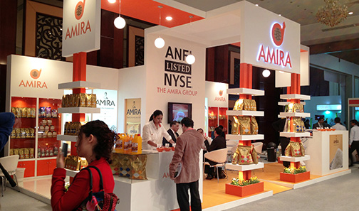 Food Exhibition Stands