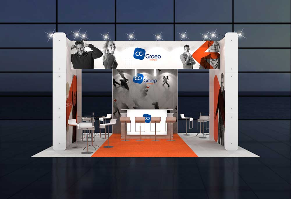 Portable Exhibition Stands In Dubai : Cost effective exhibition stands dubai
