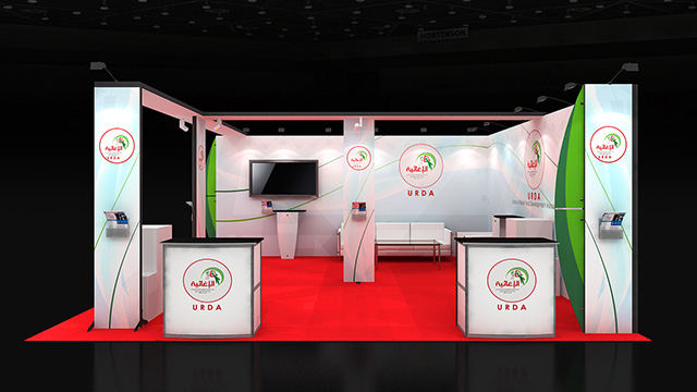 Exhibition Stand Design Ideas : 6x6 row exhibition stand re6x6 068