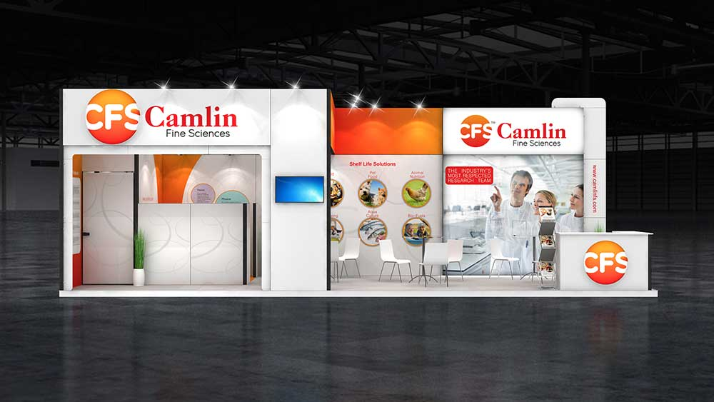 exhibition booth design dubai