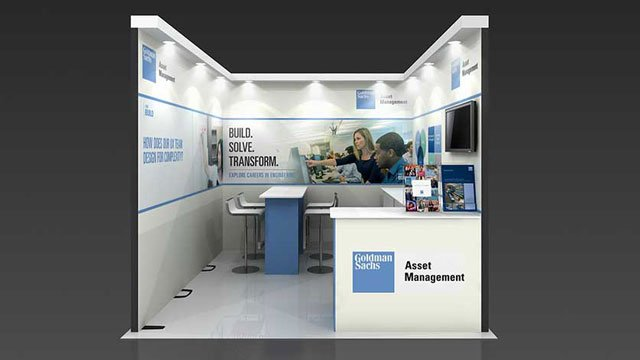 Portable Exhibition Stands In : Row exhibition stand re