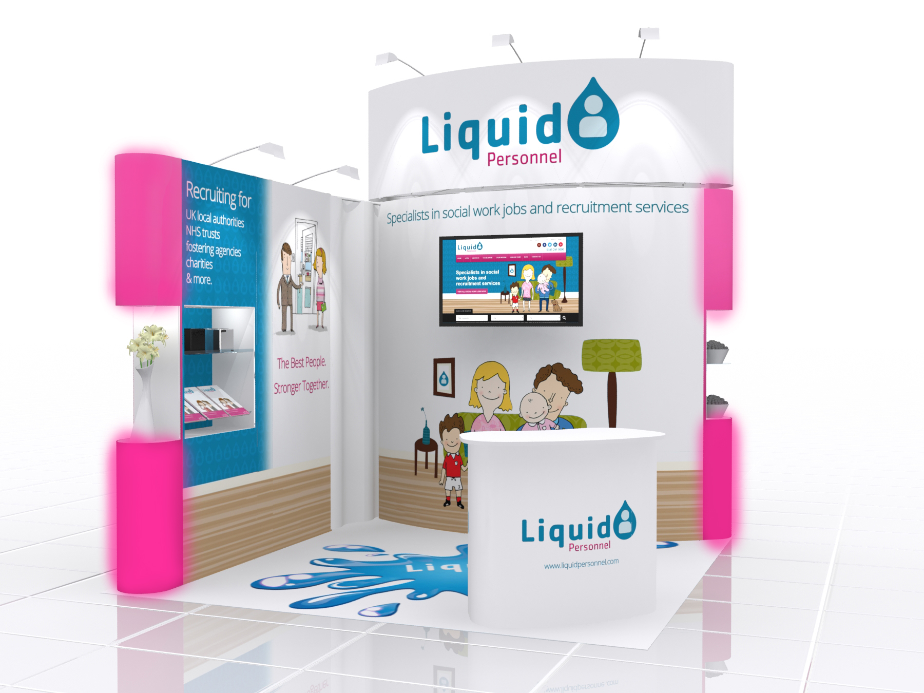 Exhibition Stand Job Vacancies : Showcase your brand with exhibition stand
