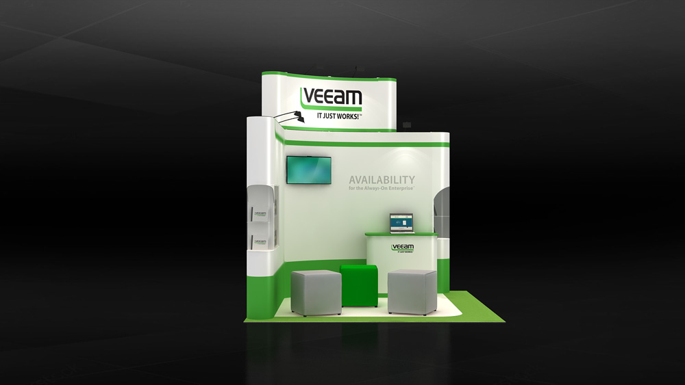 Simple Exhibition Stand : 10 easy exhibition booth set up ideas for your exhibition