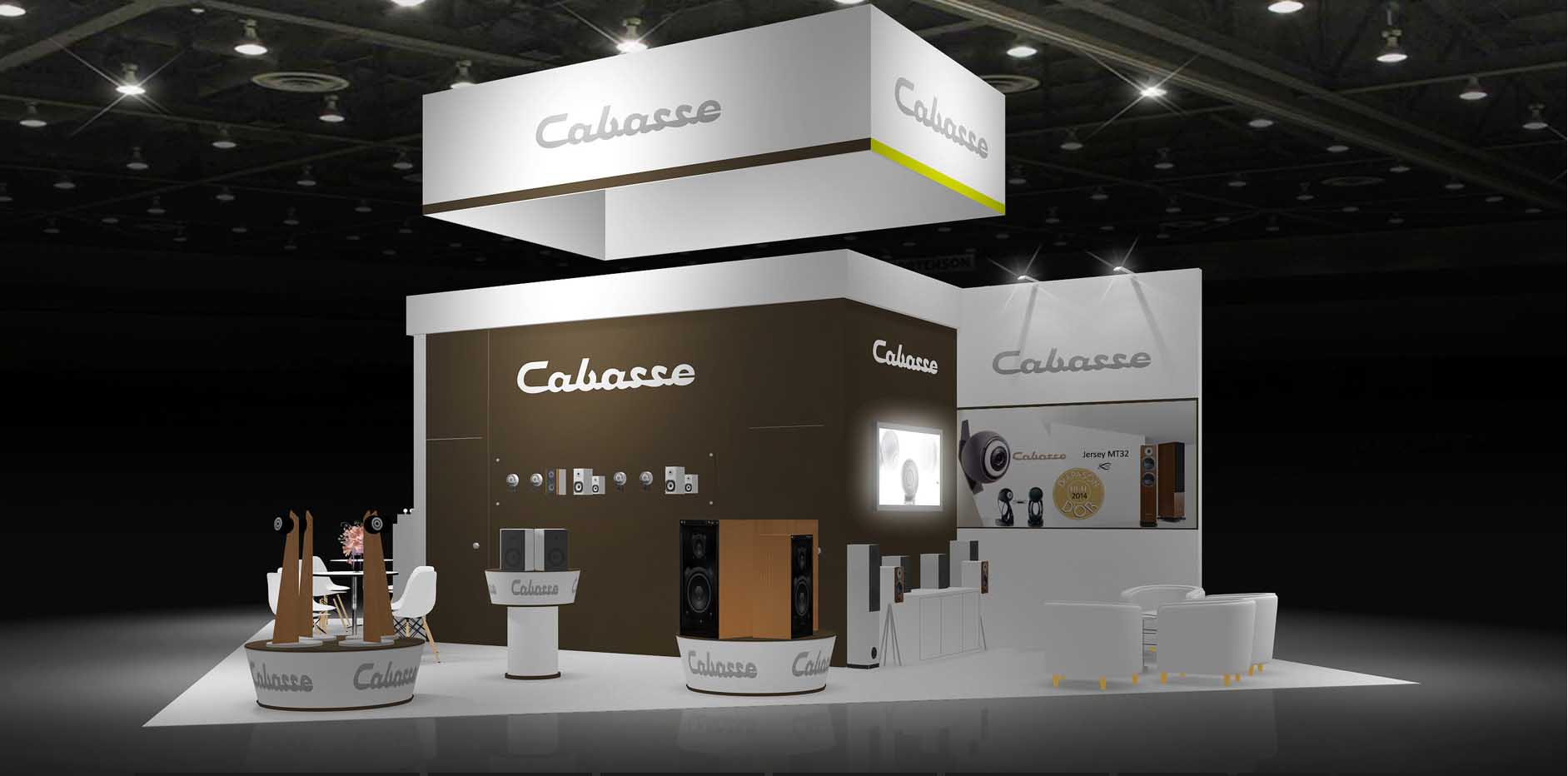 Exhibition Stand Hire : Island exhibition stand re
