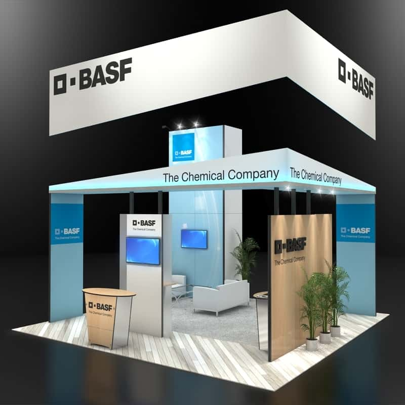 Exhibition Stall Companies : Island exhibition stand re