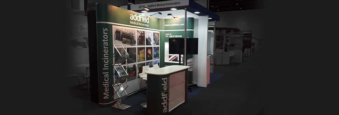 Exhibition Stand Staff Training : Modular exhibition stands in dubai made with swiss technology