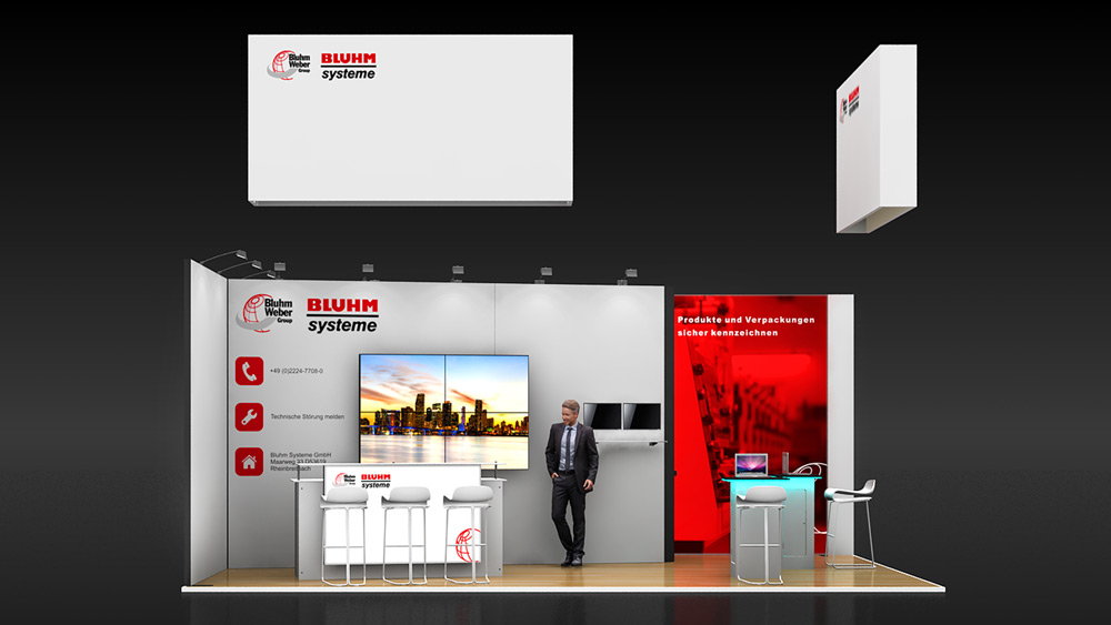 Corner Exhibition Stands Wa : Corner exhibition stand re