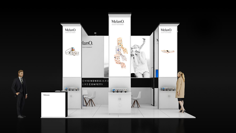 Corner Exhibition Stands Wa : Two corner exhibition stand re