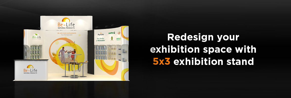 5x3 Exhibition Stands Dubai
