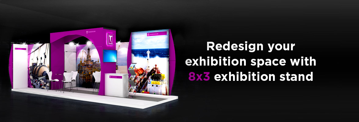 8x3 Exhibition Stands Dubai
