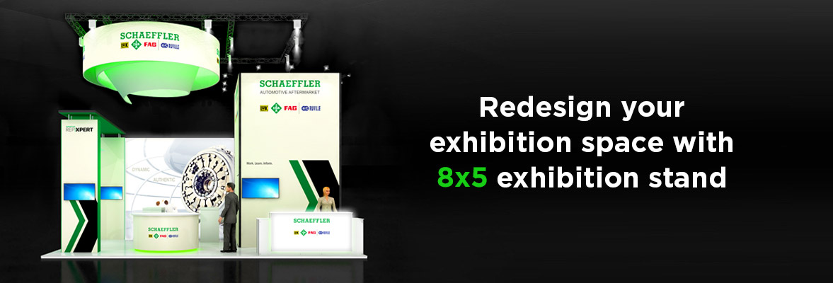 8x5 Exhibition Stands Dubai