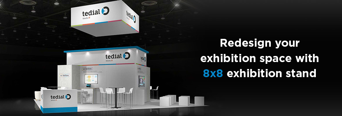 8x8 Exhibition Stands Dubai