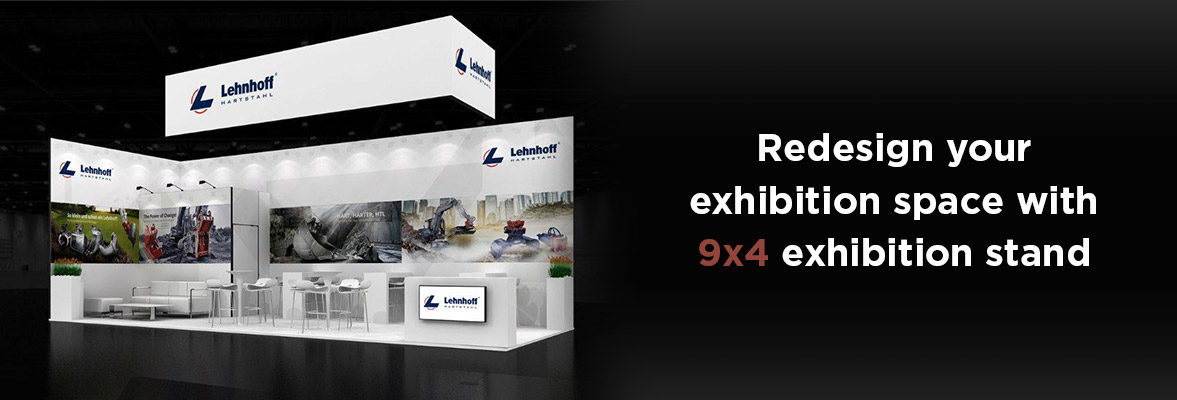 9x4 exhibition stands Dubai