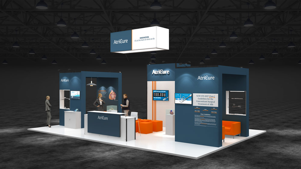 Exhibition Stand Guidelines : Island exhibition stand re