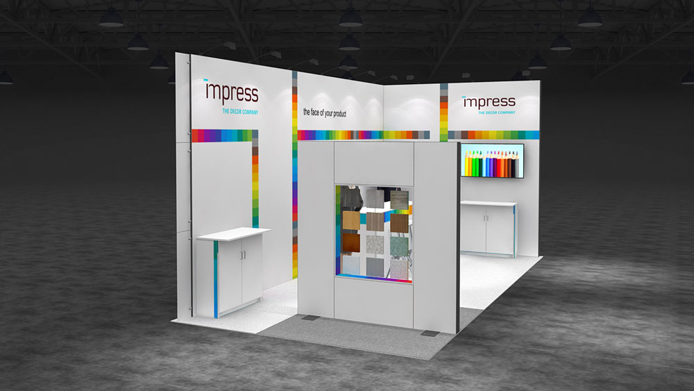 Exhibition Stand Design Decor : Egger pro laminate flooring for mercedes exhibition stand iaa