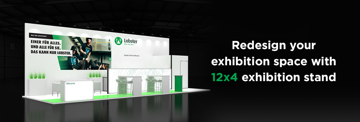 12x4 Exhibition Stands Dubai