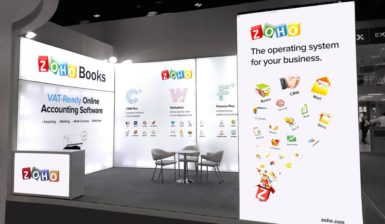 Zoho – Gitex 2017 in Dubai world trade Centre Dubai