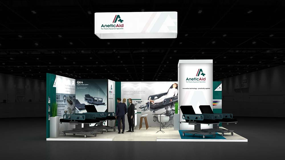 Portable Exhibition Stands In Dubai : Customized exhibition stands dubai suiting all your