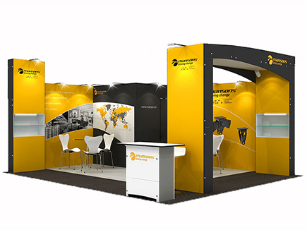 25m2to 54m2 Exhibition Stands