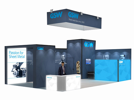55m2 and above Exhibition Stands
