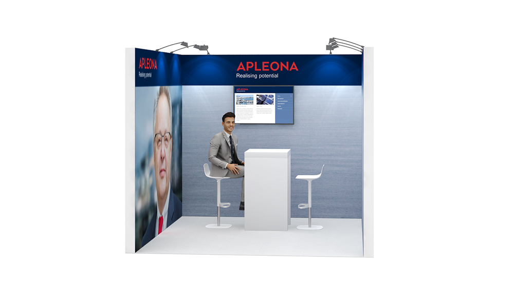 Exhibition Stand On Rent : Row exhibition stand re