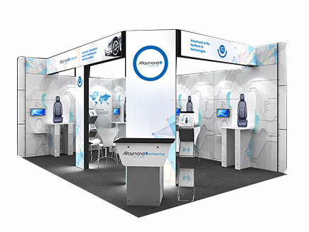 9m2 to 24m2 Exhibition Stands