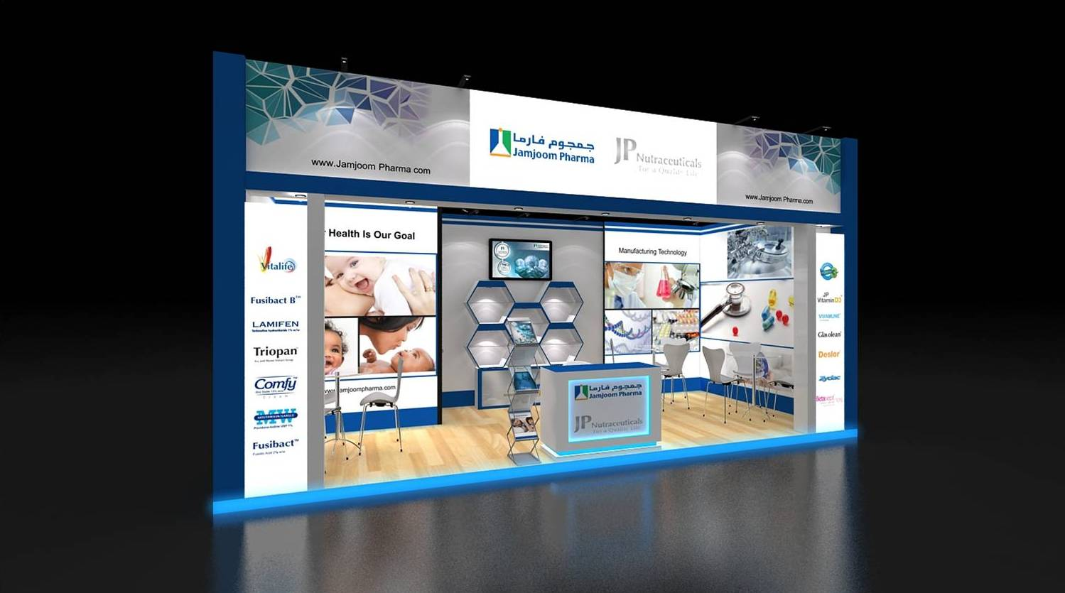Pharmaceutical Exhibition Stand Design : Row exhibition stand re