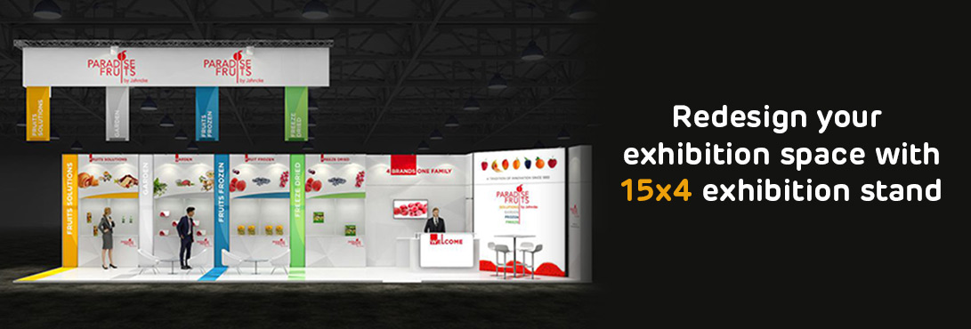 15x4 Exhibition Stands