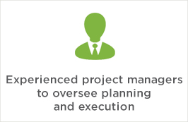 Experienced project managers