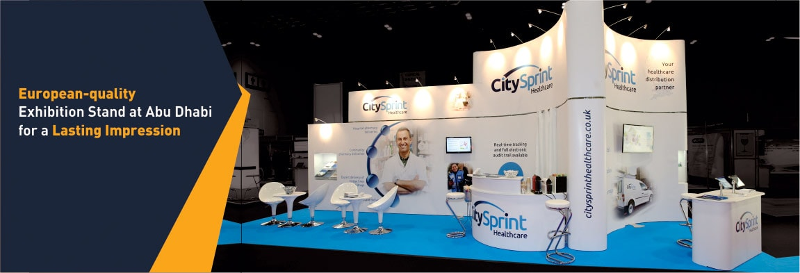 Exhibition Stall For Rent : Exhibition stand rental in abu dhabi designed by experts