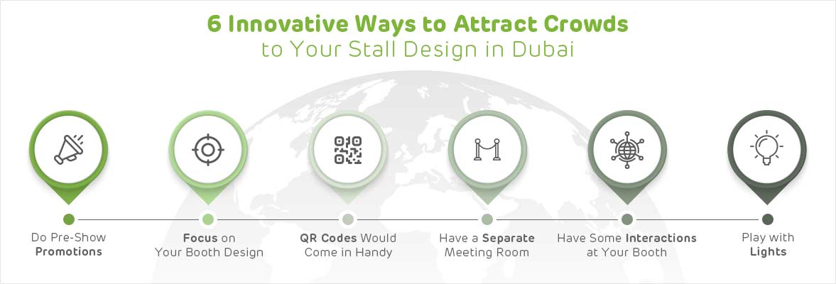6 Innovative Ways To Attract Crowds To Your Stall Design In Dubai